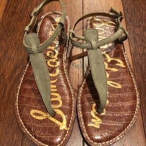 Sam Edelman Gigi Thong Sandals in camo